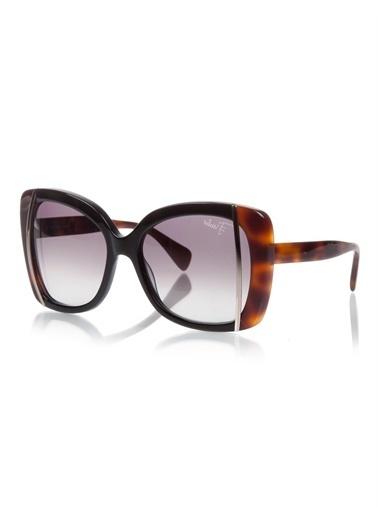 Emilio Pucci  Ep 741 001 Kadın Güneş Gözlüğü Siyah